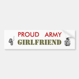 Army Girlfriend Bumper Stickers
