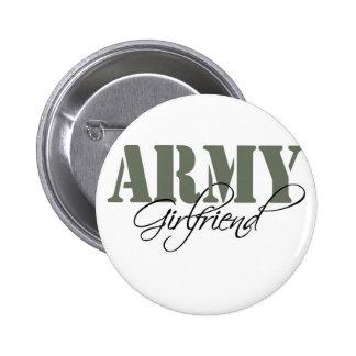 Army Girlfriend Pinback Button