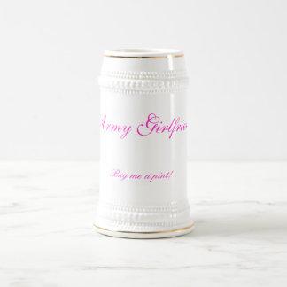 Army Girlfriend, Buy me a pint! Beer Stein