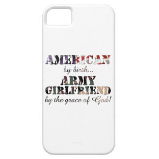 Army Girlfriend Grace of God iPhone SE/5/5s Case
