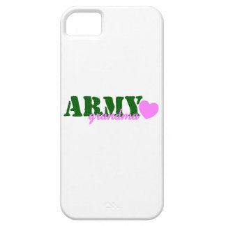 Army Girlfriend Green Pink Heart iPhone SE/5/5s Case