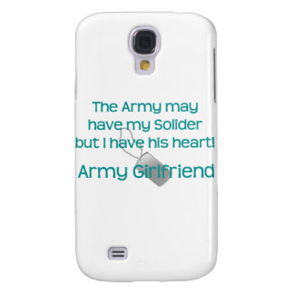 Army Girlfriend Have his Heart Samsung Galaxy S4 Case