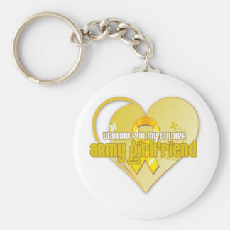 Army Girlfriend Keychain