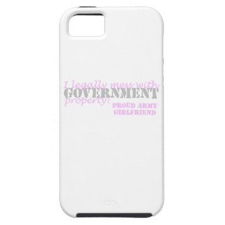 Army Girlfriend Legally Mess iPhone SE/5/5s Case