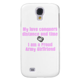 Army Girlfriend Love Conquers Galaxy S4 Cover