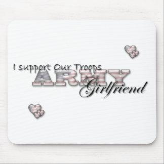 Army Girlfriend-Mousepad