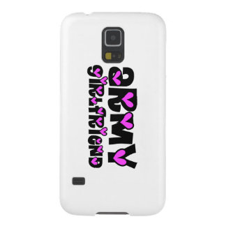 Army Girlfriend Pink Hearts Case For Galaxy S5