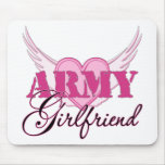 Army Girlfriend Wings Mousepad