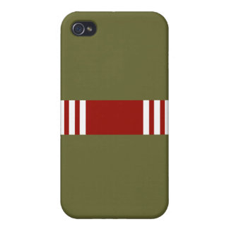 Army Good Conduct Ribbon iPhone 4 Case