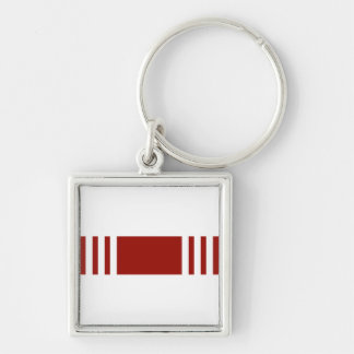 Army Good Conduct Ribbon Keychain