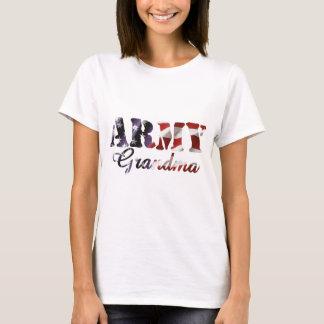 Army Grandma American Flag T-Shirt