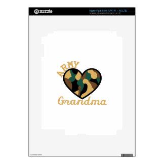 Army Grandma Decals For iPad 3