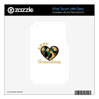 Army Grandma iPod Touch 4G Skin