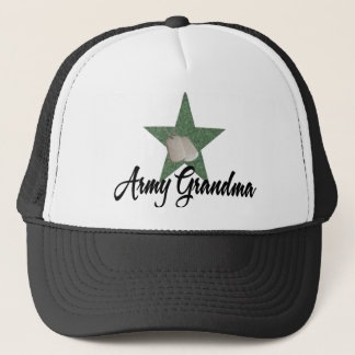 Army Grandma Trucker Hat