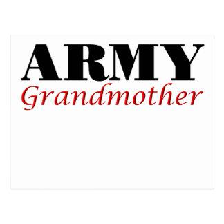 Army Grandmother (cursive) Postcard