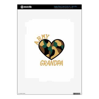 Army Grandpa iPad 3 Decals