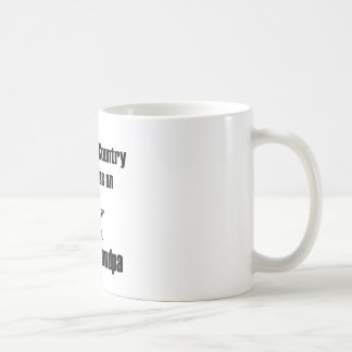Army Grandpa Serve Proudly Coffee Mug