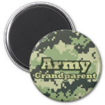 Army Grandparent 2 Inch Round Magnet