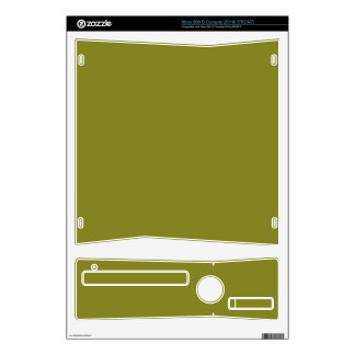 """ARMY GREEN (a """"you're not behind a plow"""" color) ~ Skin For The Xbox 360 S"""