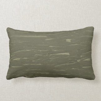 Army Green Bark Camo Lumbar Pillow