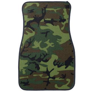 Army Green Camo Car Floor Mat
