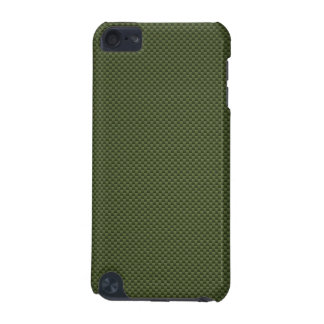 Army Green Carbon Fiber Style Print iPod Touch 5G Cover