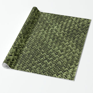 Basket Weave Wrapping Paper Zazzle
