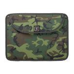 Army Green Miligary Camouflage MacBook Pro Sleeve