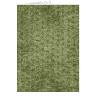 Army Green Nubby Chenille Fabric Texture Card