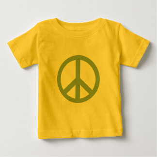 Army Green Peace Sign Products Baby T-Shirt