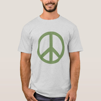 Army Green Peace Sign Products T-Shirt