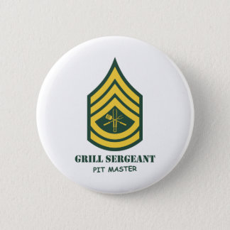 Army Grill Sergeant Button