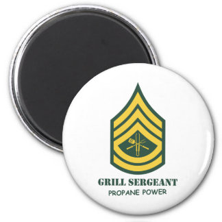 Army Grill Sergeant Fridge Magnet