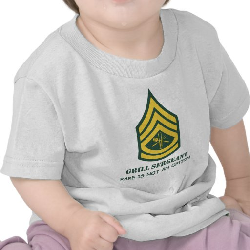 Army Grill Sergeant Shirt
