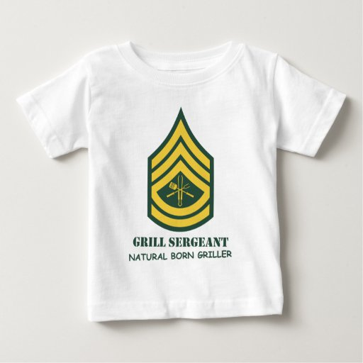 Army Grill Sergeant Tees