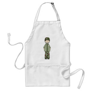 army_guy adult apron