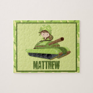 Army Guy Personalized Puzzle