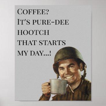 Army Guy Soldier Military Humor Joke Gag Poster