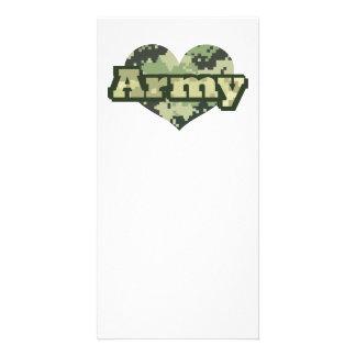Army Heart Card
