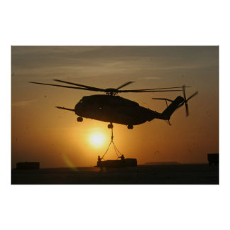 ARMY HELICOPTER PRINT