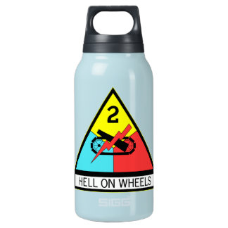 Army Hell On Wheels Insulated Water Bottle