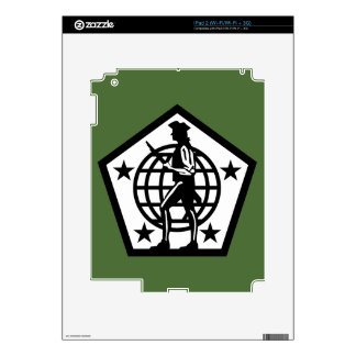 Army Human Resources Command - 2 -BW Skins For iPad 2