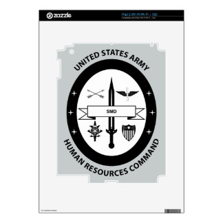 Army Human Resources Command - 3 -BW iPad 2 Decals