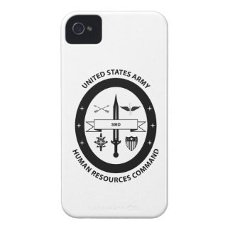 Army Human Resources Command - 3 -BW iPhone 4 Case