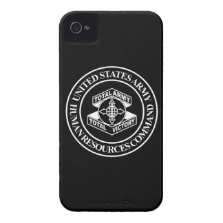 Army Human Resources Command - BW iPhone 4 Cover