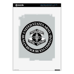Army Human Resources Command - BW Skin For iPad 3
