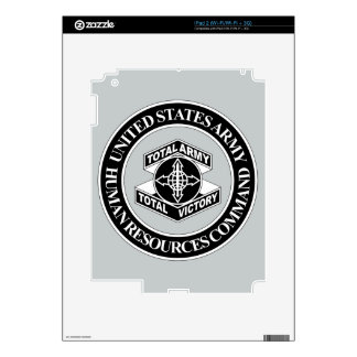 Army Human Resources Command - BW Skins For iPad 2