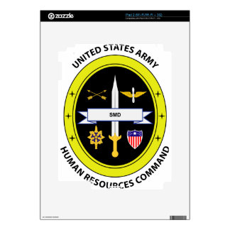Army Human Resources Command Decals For The iPad 2
