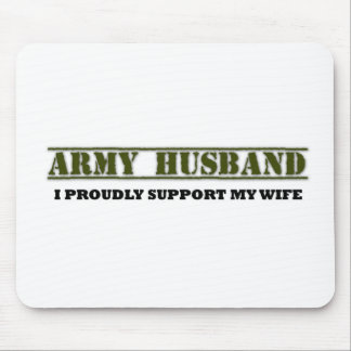 Army Husband Mouse Pad