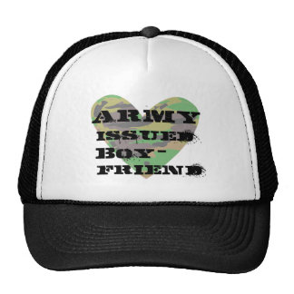 Army Issued Boyfriend Trucker Hat